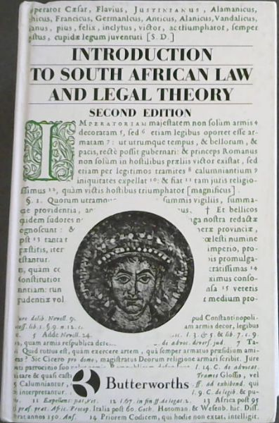 Image for Introduction to South African Law and Legal Theory