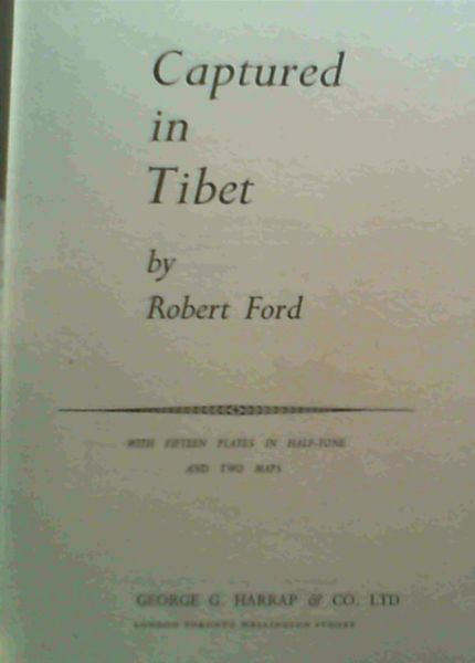 Image for Captured in Tibet