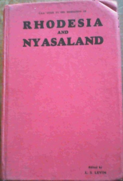 Image for Rhodesia & Nyasaland 1961 Edition
