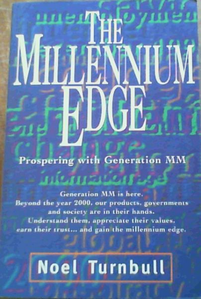 Image for The Millennium Edge; Prospering with Generation MM