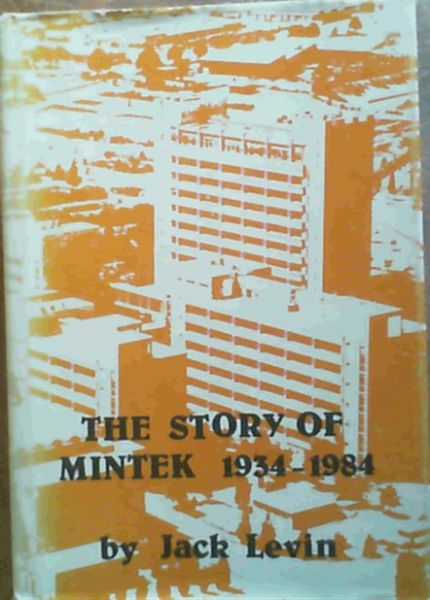Image for The story of Mintek, 1934-1984