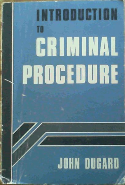 Image for South African Criminal Law and Procedure Vol IV : Introduction to Criminal Procedure