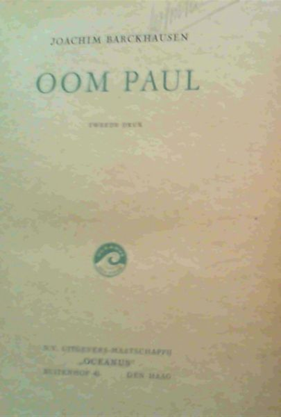 Image for Oom Paul