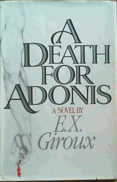 Image for A Death for Adonis