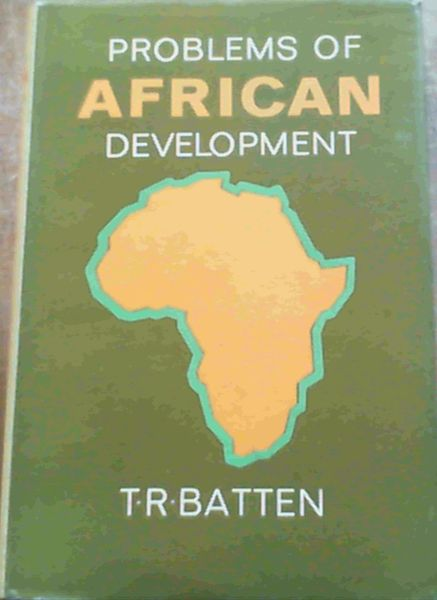 Image for Problems Of African Development