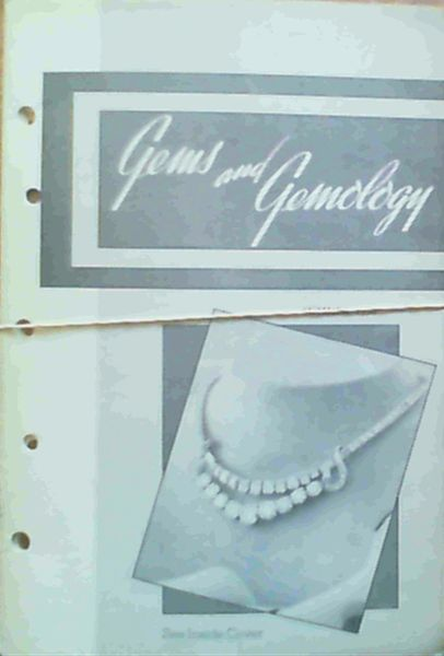 Image for Gems & Gemology - Volume VI Spring 1950 Number 9 / Volume VI Summer 1950 Number 10