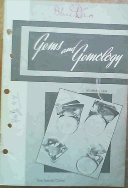 Image for Gems & Gemology - Volume VIII Summer 1954 Number 2