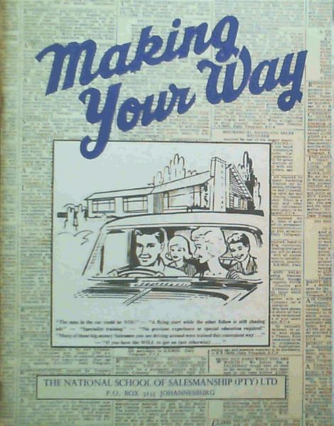 Image for Making Your Way in Life - with Salesmanship