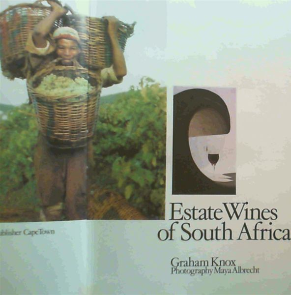 Image for Estate wines of South Africa