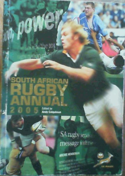 Image for South African Rugby Annual 2005