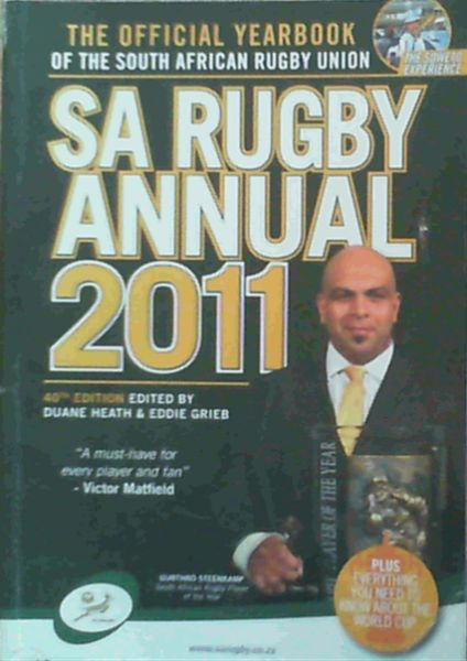 Image for SA Rugby Annual 2011: The Official Yearbook of the South African Rugby Union