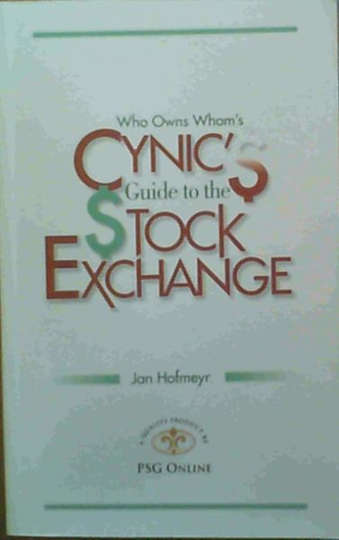 Image for Who Owns Whom's Cynic's Guide to the Stock Exchange