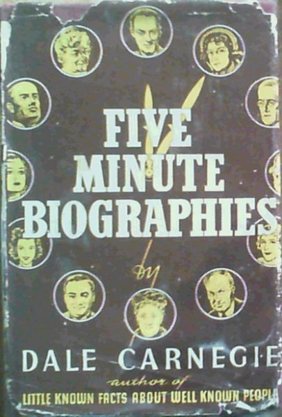 Image for Five Minute Biographies