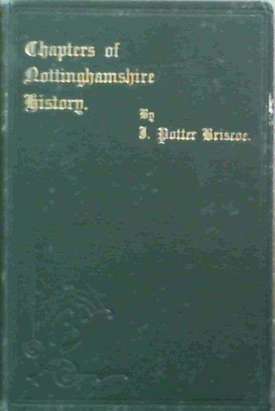 Image for Chapters of Nottinghamshire History