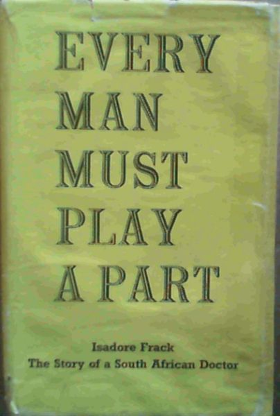 Image for Every Man Must Play a Part