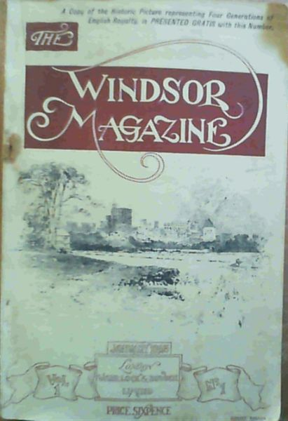 Image for The Windsor Magazine Vol. 1 Number 1 - January 1895