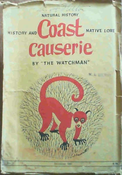Image for Coast Causerie - Natural History, History and Native Lore No. 3 Vol. 1, December 1945