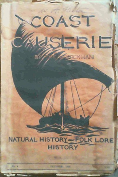 Image for Coast Causerie - Natural History, History and Native Lore No. 4 Vol. 1 October 1946