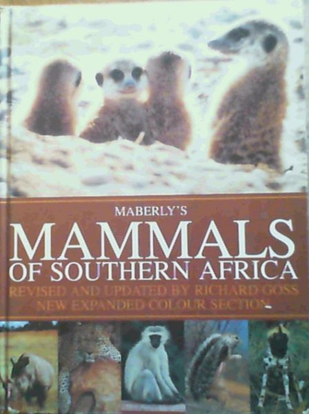 Image for Maberley's Mammals of Southern Africa