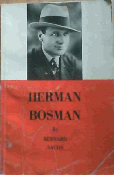 Image for Herman Charles Bosman as I knew him