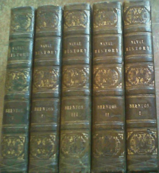Image for The Naval History of Great Britain from the year MDCCLXXXIII to MDCCCXII - Five Volumes