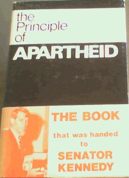 Image for The Principle of Apartheid