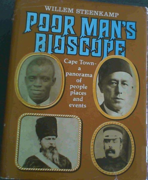 Image for Poor man's bioscope; Cape Town- a panorama of people, places and events