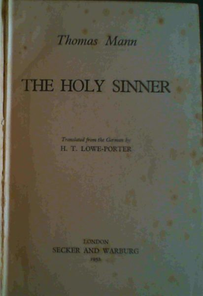 Image for The Holy Sinner