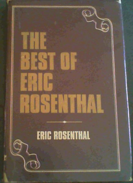 Image for Best of Eric Rosenthal