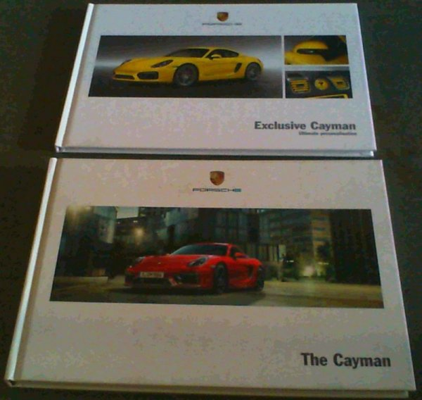 Image for Porsche - The Cayman / Exclusive Cayman - Ultimate Personalisatioln