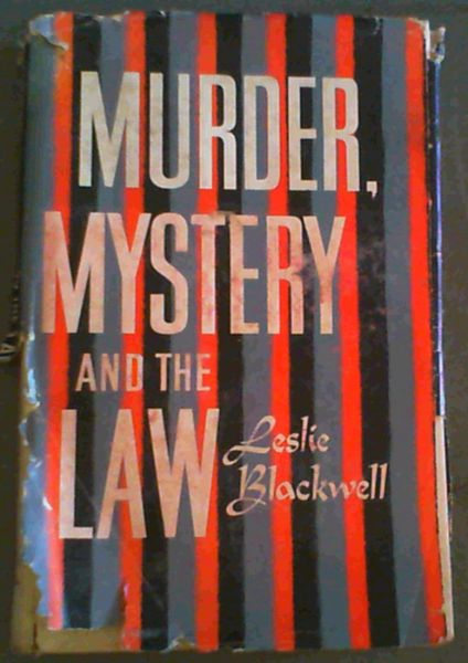 Image for Murder, Mystery and the Law