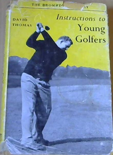 Image for Instructions to young Golfers