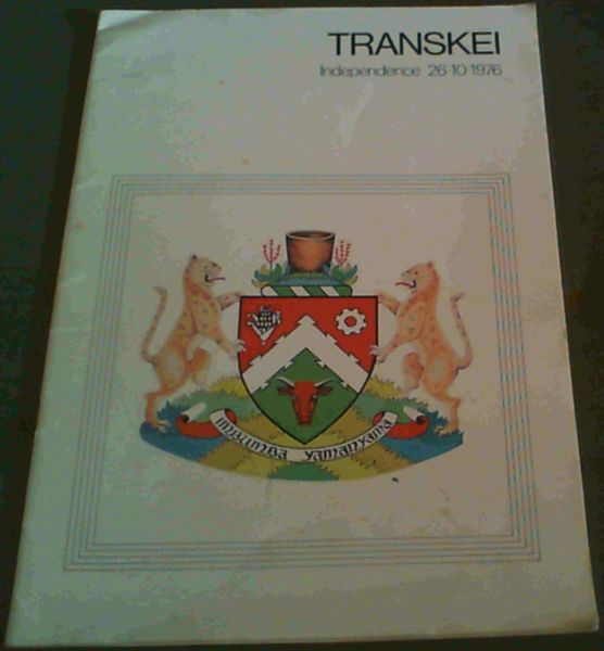 Image for Transkei - Independence 26.10.76