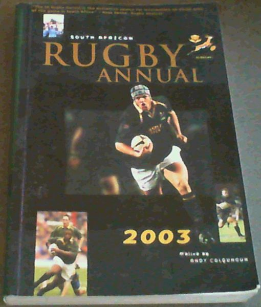 Image for South African Rugby Annual 2003