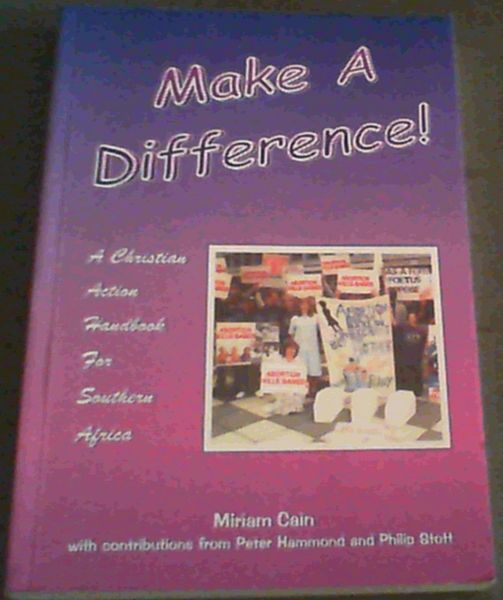 Image for Make a Difference!: A Christian Action Handbook for Southern Africa