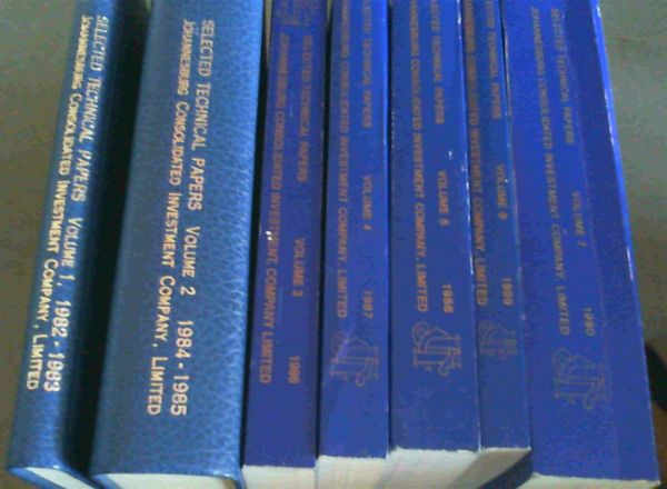 Image for Selected Technical Papers - 7 Volumes