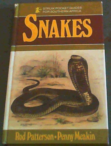 Image for Snakes (Struik Pocket Guides for Southern Africa)