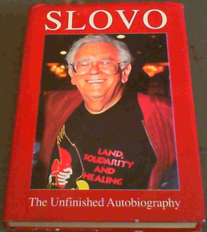 Image for Slovo: The Unfinished Autobiography