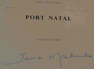 Image for Port Natal : A Pioneer Story