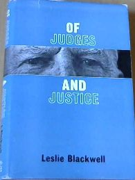 Image for Of Judges and Justice