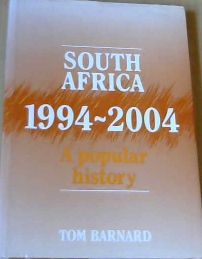 Image for South Africa 1994 - 2004  A Popular History