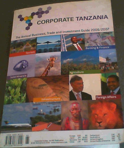 Image for Corporate Tanzania : The Annual Business, Trade and Investment Guide 2006/2007