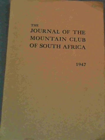 Image for The Journal of the Mountain Club of South Africa  1947