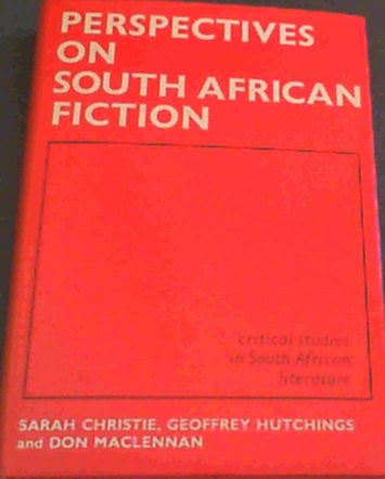 Image for Perspectives on South African fiction