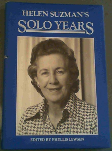 Image for Helen Suzman's Solo Years