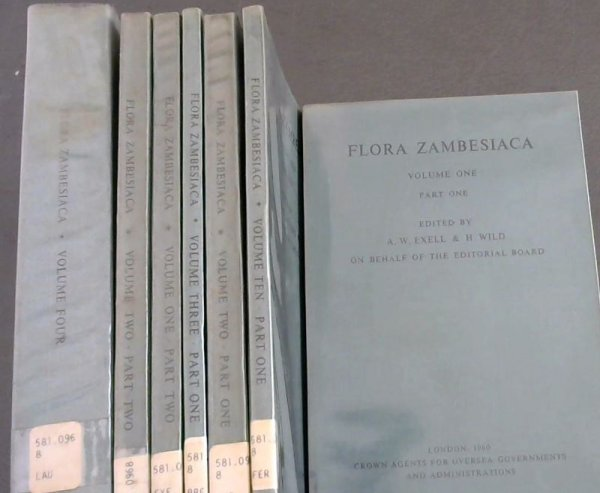 Image for Flora Zambesiaca : Mozambique, Federation of Rhodesia and Nyasaland, Bechuanaland Protectorate - incomplete set (details in description)
