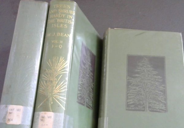 Image for Trees and Shrubs Hardy in the British Isles - 3 Volumes