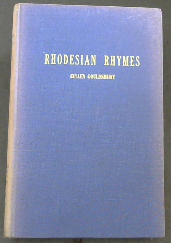 Image for Rhodesian Rhymes