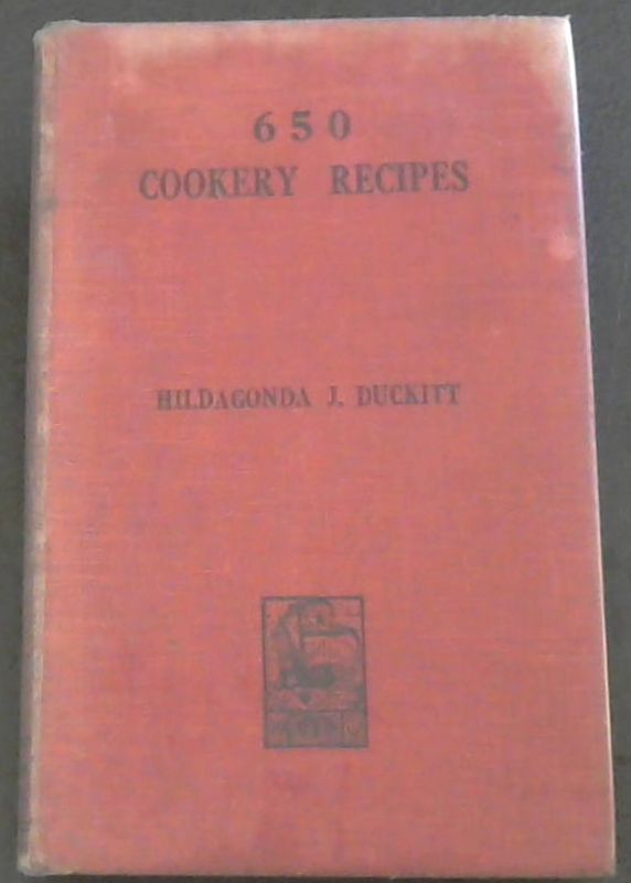 Image for 650 Cookery Recipes