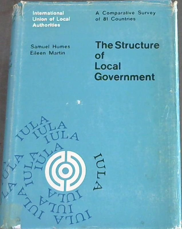 Image for The  Structure  of  Local  Government